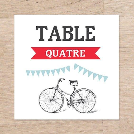 Numéro de table  Guinguette