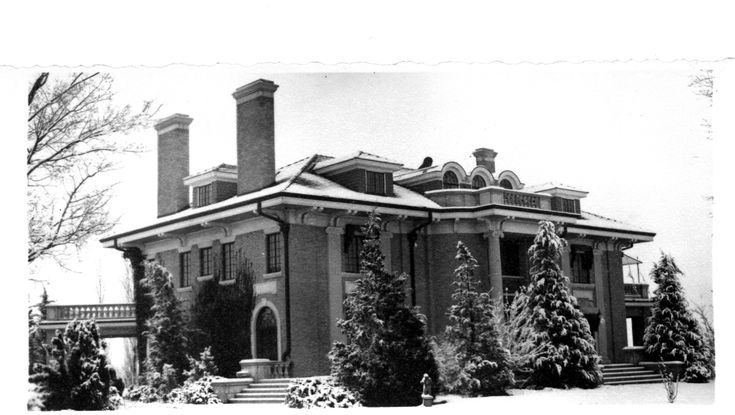 The Jones Mansion, Cushing, Oklahoma