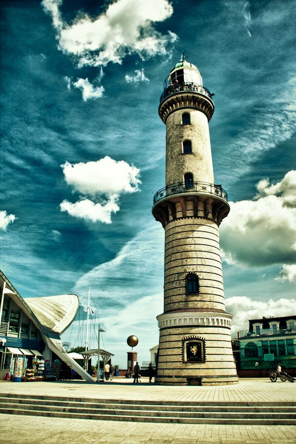Leuchtturm Ostseebad Warnemünde, Rostock, Germany
