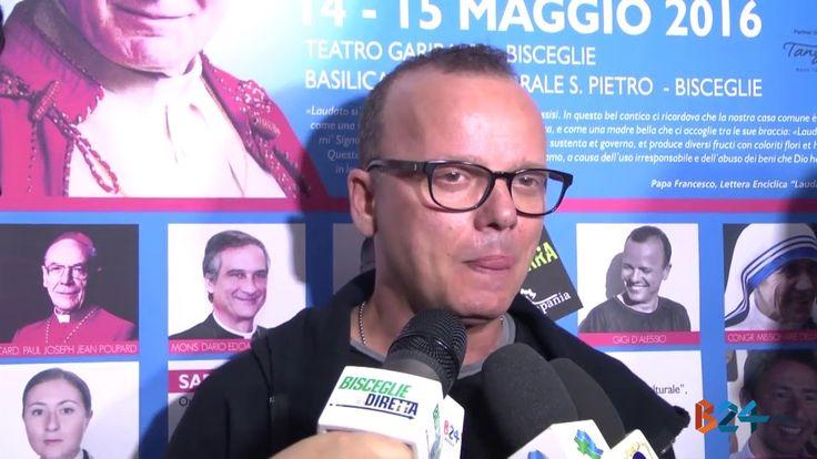 Riconoscimento Giovanni Paolo II, interviste a Gigi D'Alessio, Frizzi, E...