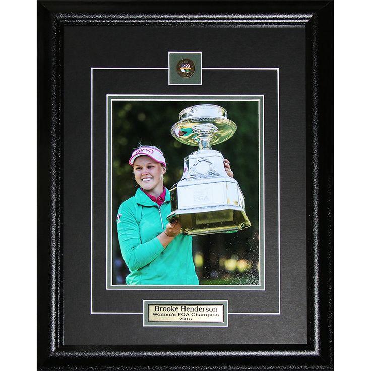 Midway Brooke Henderson PGA Golf 8x10 Photo Frame Set