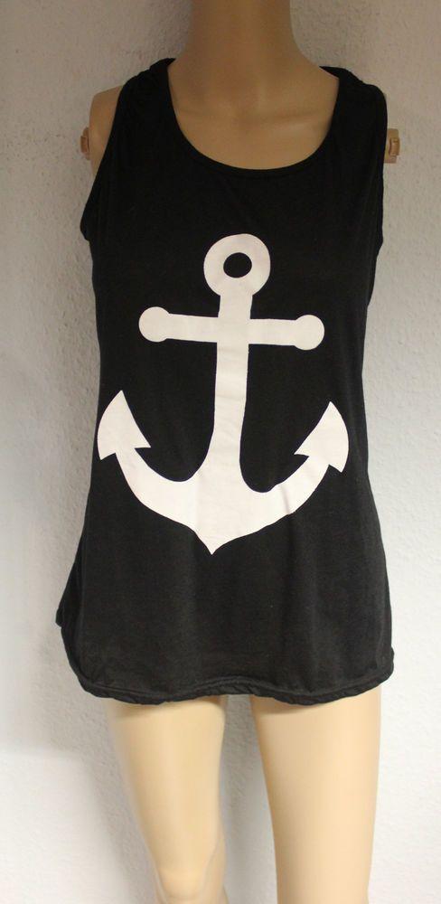 Anker Shirt mit Schleifchen Top Blogger Lookbook Rockabilly marine Hipster