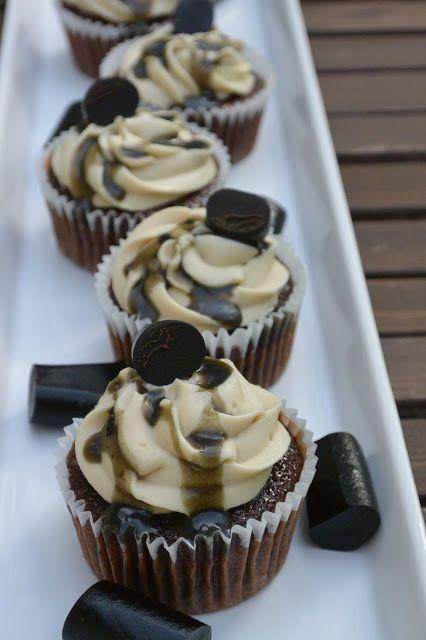 Celebration Treats 4U: Choco Liquorice Cupcakes