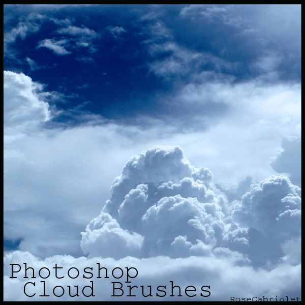 Cloud Brushes by RoseCabriolet.deviantart.com on @deviantART