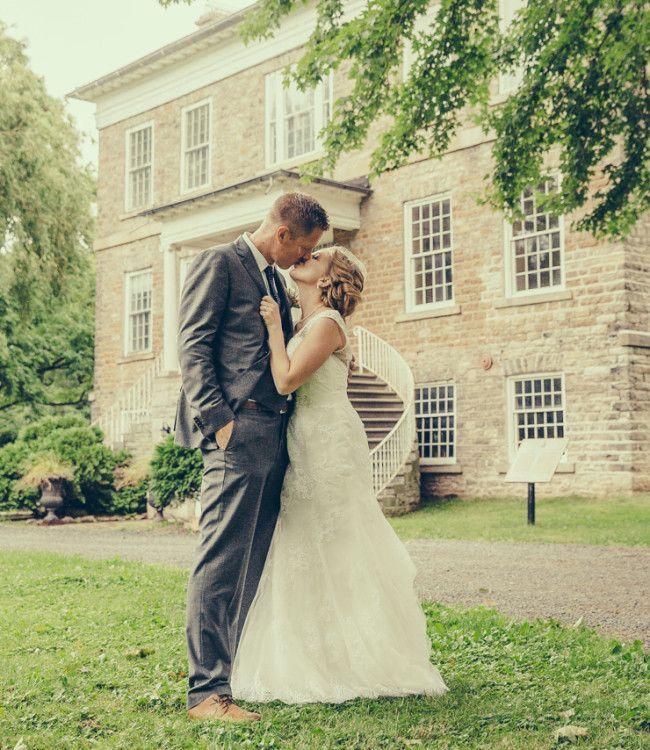 Truth & Tales - Real wedding - bride and groom portraits - Niagara wedding http://truthandtalesstudio.com/