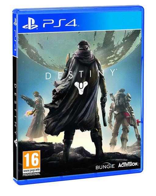 Destiny PS4 Box Art