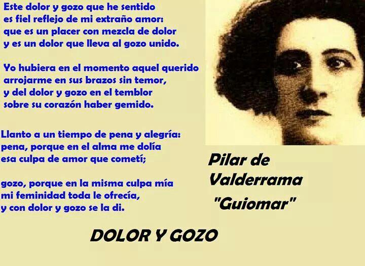 Pilar de Valderrama, Guiomar (Madrid, España)