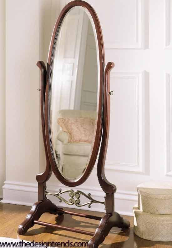 Floor Mirrors | Traditional Floor Mirror 11 Full Length Mirror Ideas for Modern Home ...
