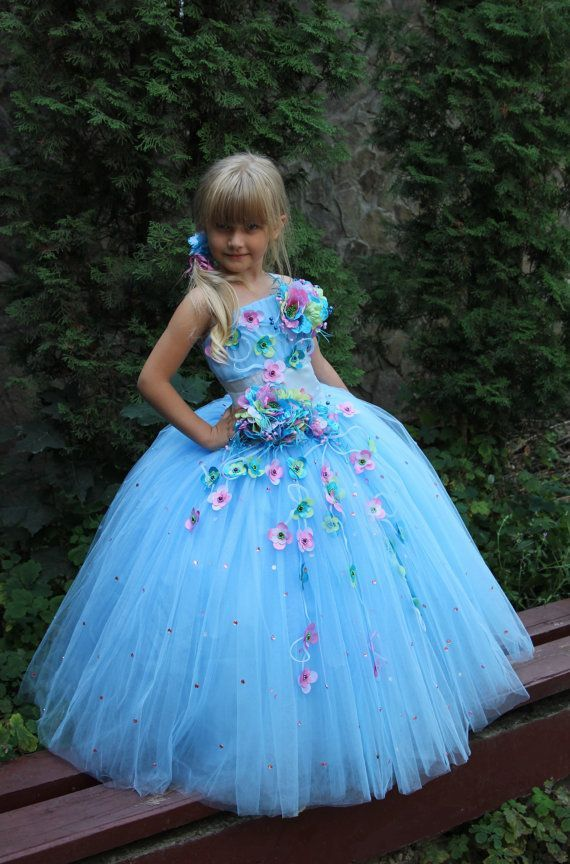 Children Girls Birthday Party Holiday Pageant by Butterflydressua