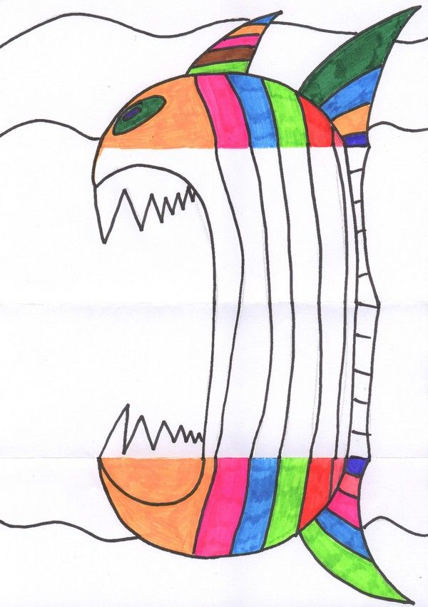 25 best ideas about comment dessiner un poisson on pinterest comment dessiner des poissons - Dessiner des poissons ...