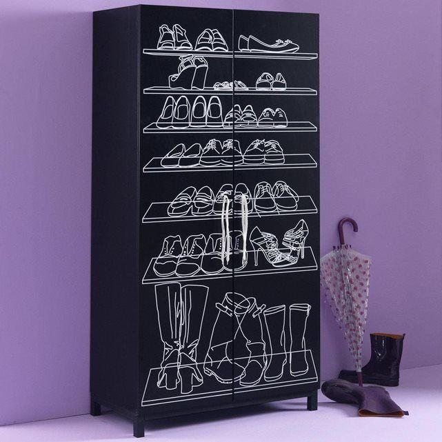 armoire chaussure la redoute
