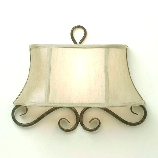 With Mica Shade Wall Sconce Lamp Shade Wall Sconce Shades Glass