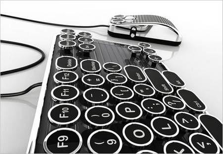 Typewriter style keyboard
