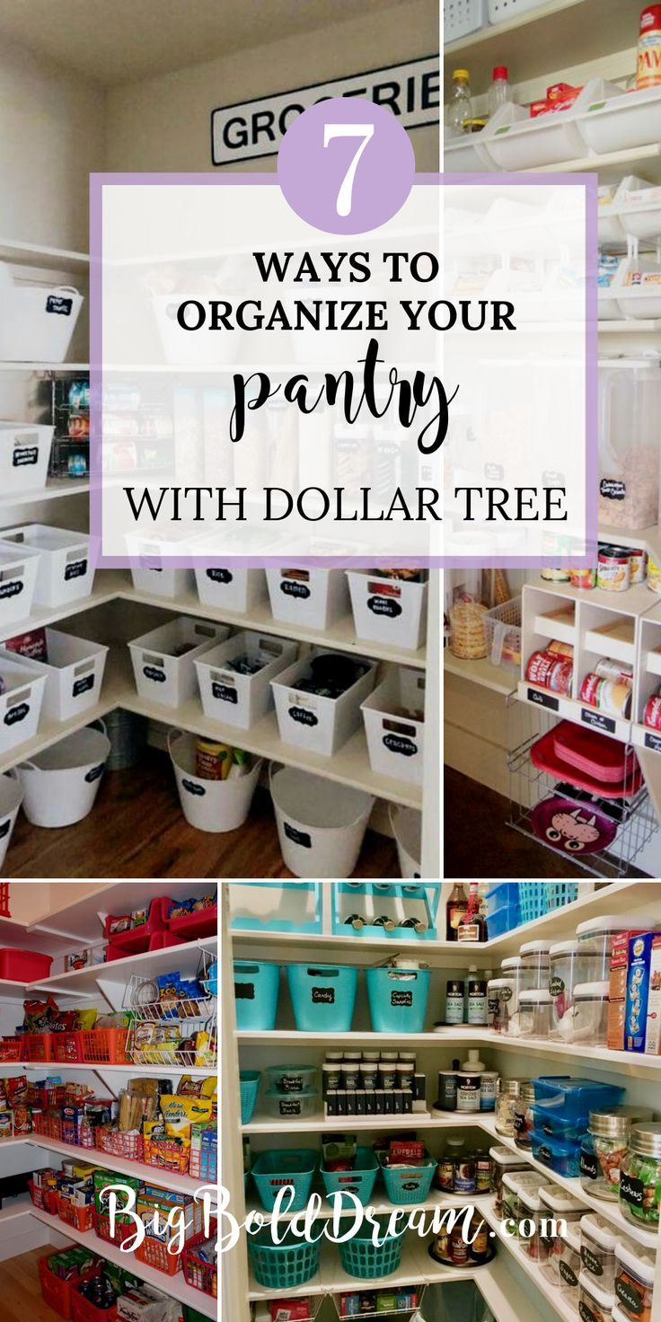 Pantry Organization Organize Your Pantry With Just One Trip To The Dollar Store Pantry Organization Hacks Pantry Organization Containers Pantry Organization