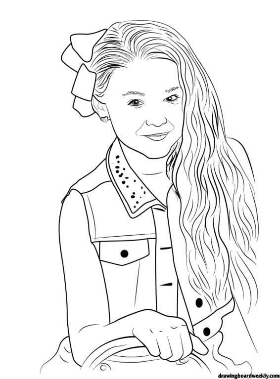 Jojo Siwa Coloring Page Dance Coloring Pages Coloring Pages Coloring Pages To Print