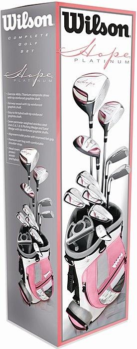 Hope Platinum Ladies Golf Club Set by Wilson