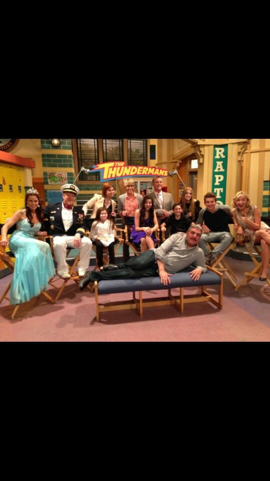 Cast on one of their shows