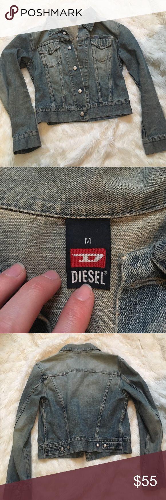 Diesel Denim Jacket Diesel Denim Jacket. Size M. Excellent condition Diesel Jackets & Coats Jean Jackets