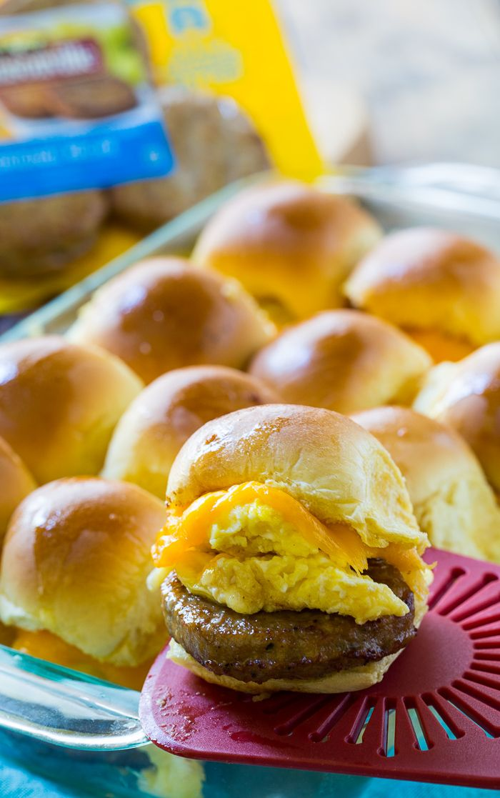 I'm sharing #SausageFamily in my life as part of a Johnsonville sponsored series for Socialstars™  Easy Breakfast Sliders are filled with sausage, egg, and cheese stuffed between squishy mini rolls. They are baked in the oven until warm and golden and make a hearty and filling breakfast or brunch that will feed a hungry …