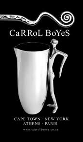 Carrol Boyes - functional art designed and made in Cape Town, S.A.