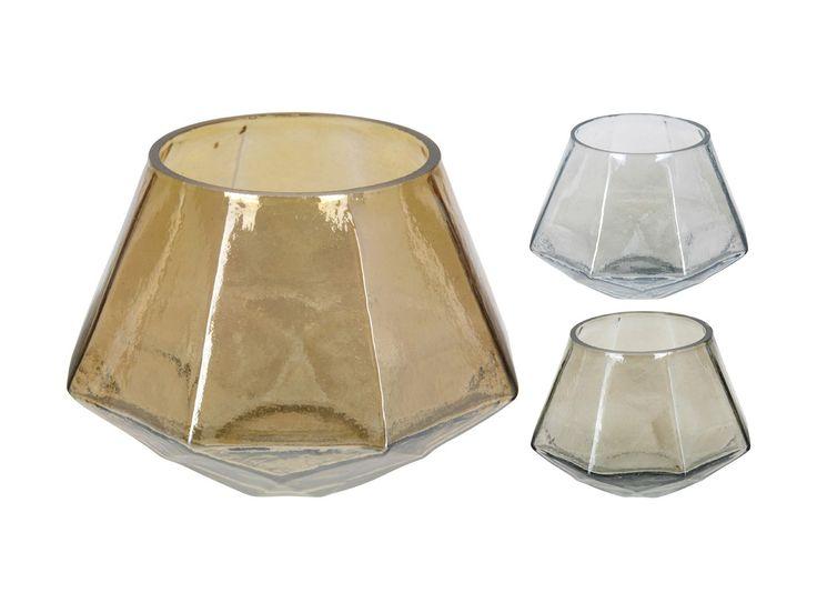 świecznik szklanny