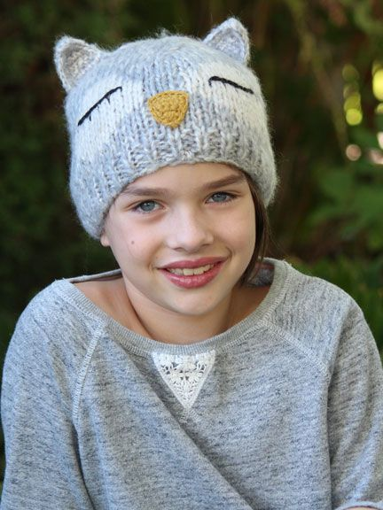 Whooooooo could resist this charming Owl Hat? Our Comfy Critters Owl Hat in ultra soft acrylic knit makes this a great fall and winter hat for kids with cancer, Free 2-day shipping with Amazon Prime.