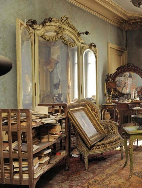 INTO THE VAGUE: Parisian Apartment Frozen in Time - The inspiration for my novel.