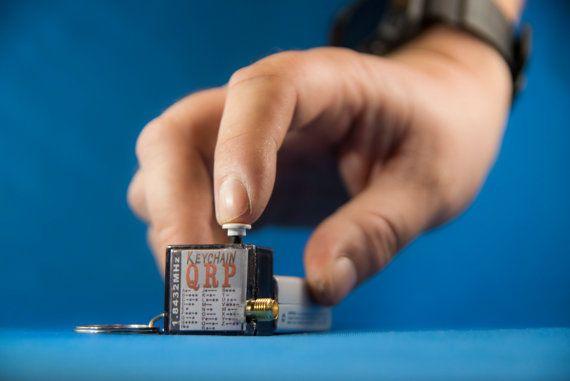 Check out Keychain QRP, the worlds smallest HF Ham Radio Transmitter!   #QRP #HamRadio #AmateurRadio #emergencygear