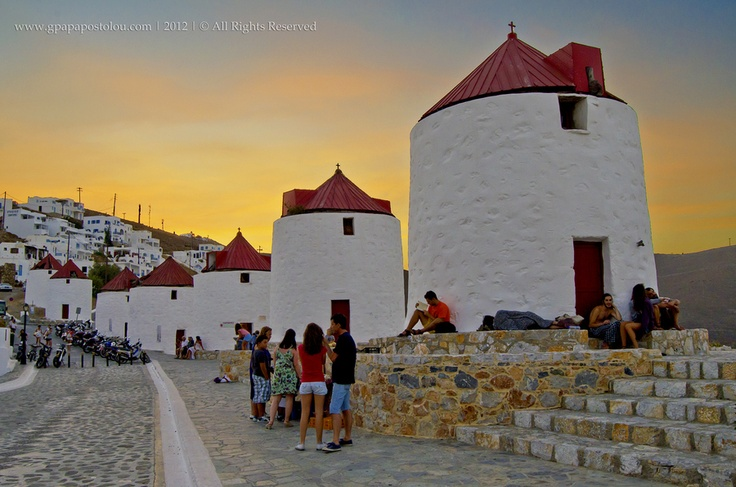Astypalaia Windmills   by George Papapostolou, via 500px