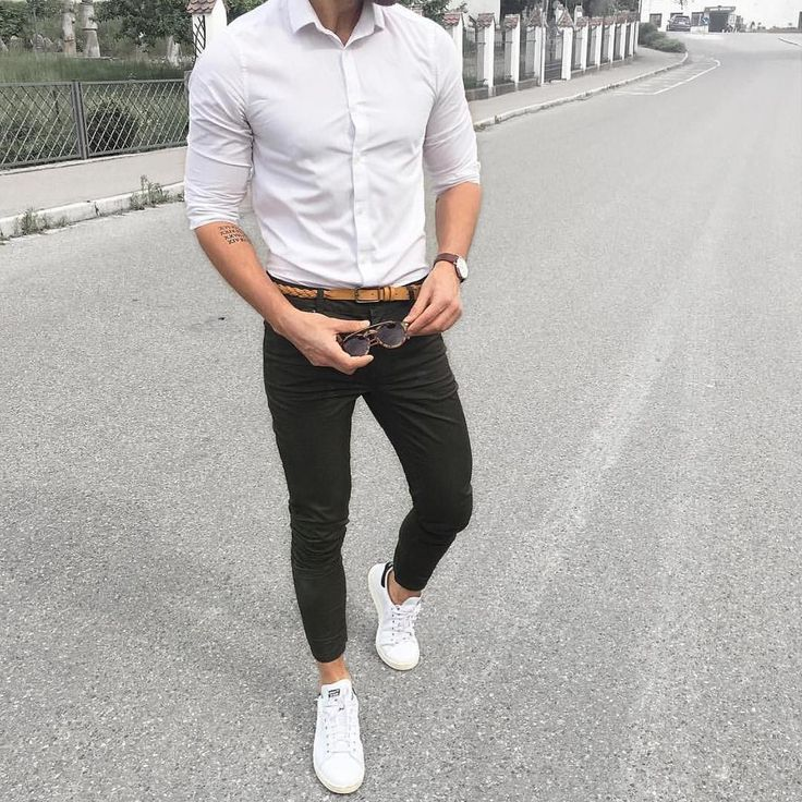 17 Best ideas about White Shirt Men on Pinterest | Mens casual ...