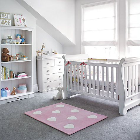 Buy Boori Nursery Furniture Range Soft White Online At Johnlewis Com