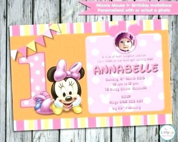 16 Awesome 1st Birthday Invitation Card In Marathi Language Image Birthday Invitations Minnie Mouse Invitations Free Birthday Invitations