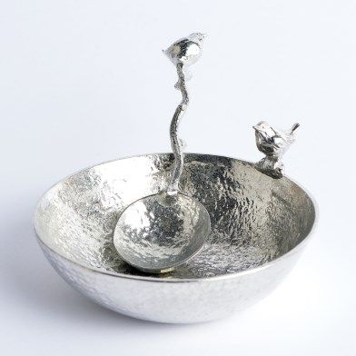 Bird Bowl with Wren Spoon | Image 1
