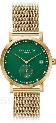 Niebanalne połączenie złota i zieleni.  #LarsLarsen #LarsLarsenWatch #green #gold  #classic #evening #perfectwatch #dlaniej #ladieswatch #męski #butiki #swiss #butikiswiss #dlaniej