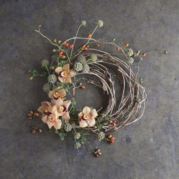 Asymmetrical Wreath Flower Arrangements Floral Arrangements Wreaths