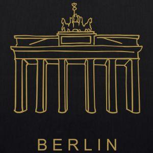 Berlin, Brandenburger Tor  (gold)