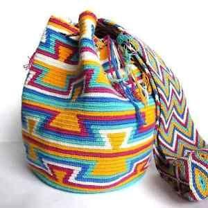 Mochila Wayuu Bag Handmade in La Guajira, Colombia. Find it in my Ebay Store for only $75.00