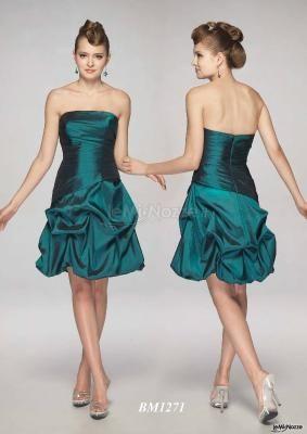 #abito da #cerimonia un po' sbarazzino e color #smeraldo