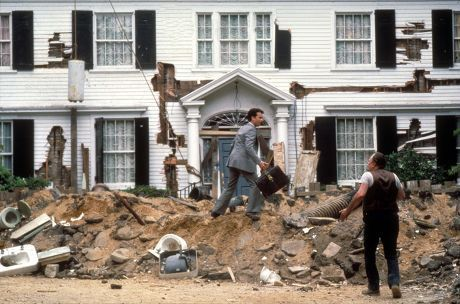 The exterior of the house was used for the Steven Spielberg-produced film, The Money Pit- TownandCountrymag.com