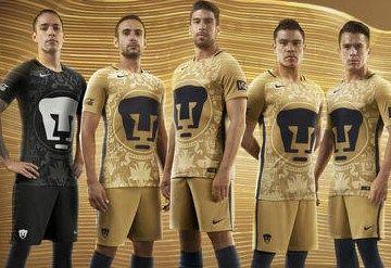 Pumas de la UNAM 2016/17 Nike Home and Away Jerseys