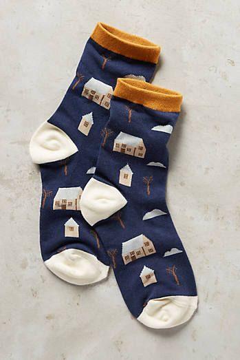 Home Sweet Home Socks