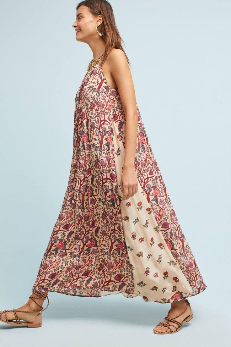 Icefall maxi dress anthropologie bridal
