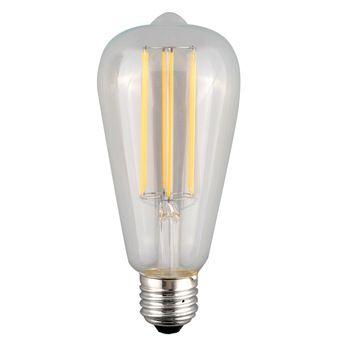 5,20 dollar  Retro st64 4w edison led gloeilamp met e27 lampvoet ac 110v- 240v 2700k warm wit led lamp wolfraam gloeidraad
