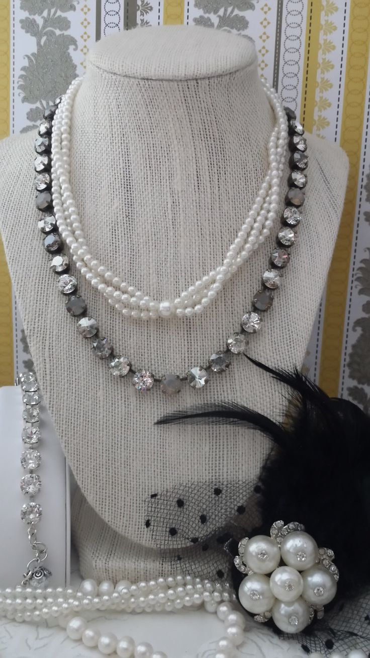 Sabika look necklace - New Satin Haze 8mm Genuine Swarovski Crystal By Kissmysassjewelry 75 00