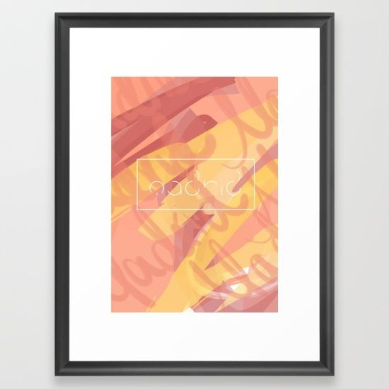 Madrid Typographic Expression Art Print #madrid #passion #warm #simple #modern #fresh #typography #graphic #art #city #bold #urban #framed #type #letters #happy