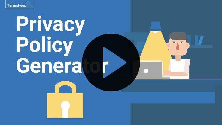 2019 Privacy Policy Generator Free, GDPR, CalOPPA, more