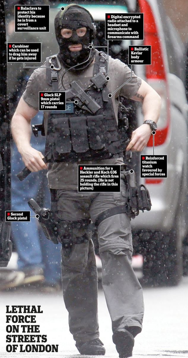 The (balaclava-clad) face of modern British policing: London siege reveals…