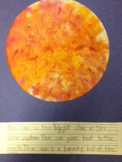 I Dream of First Grade: Let the Sun Shine In!! Art meets Science