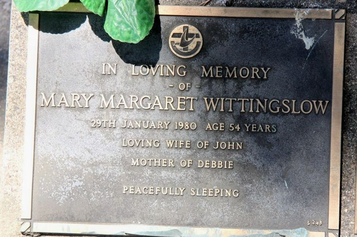 Mary Margaret McIntosh Wittingslow (1925 - 1980) - Find A Grave Photos