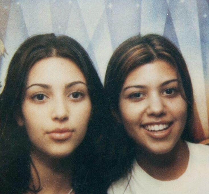 Young Kim and Kourtney Kardashian in 2020 | Kim and ...